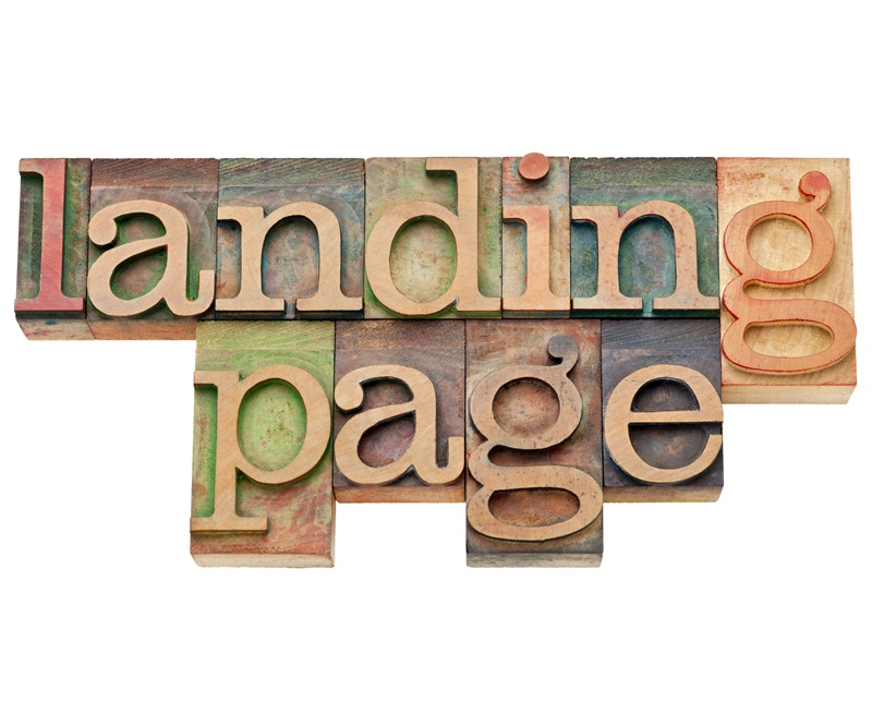 Strong Landing Page Design in Online Business