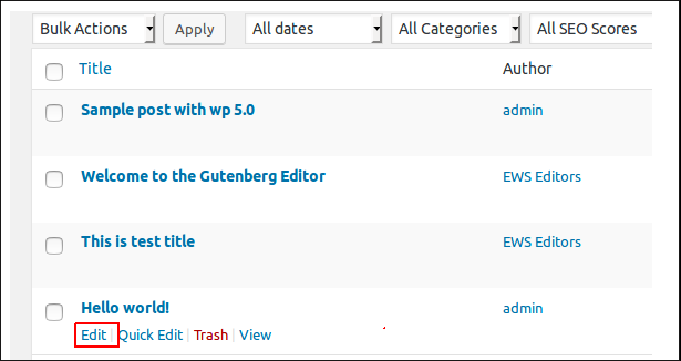 How to Convert Classic Editor Posts into WordPress 5 0