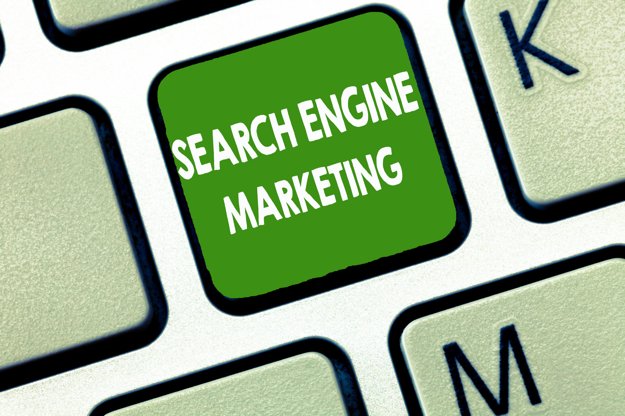 Writing note showing Search Engine Marketing. Business photo showcasing promote Website visibility on searched result pages.